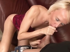 Madison Mayhem is a skinny blonde