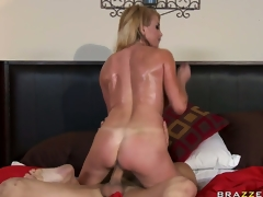 Busty MILF Taylor Wane, a British sweetheart with big tits, gets her nasty love tunnel screwed hard