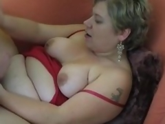 Heavy amateur Milf homemade hardcore action